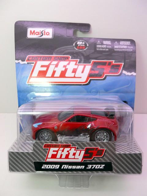 maisto custom shop fifty 5's 2009 Nissan 370Z (1)