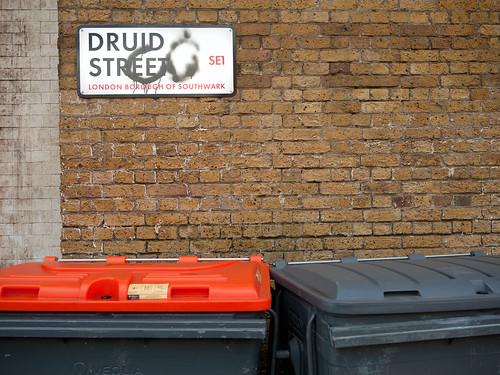 Druid Street sign.