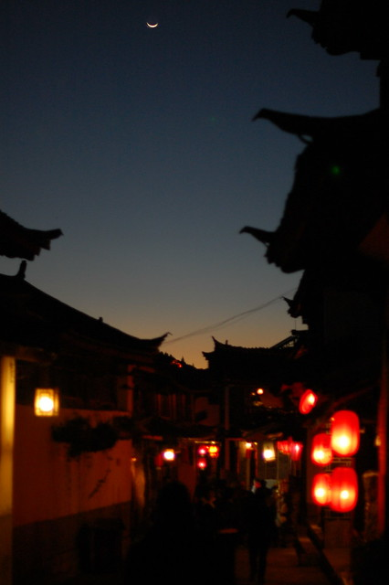 The Moon over Lijiang