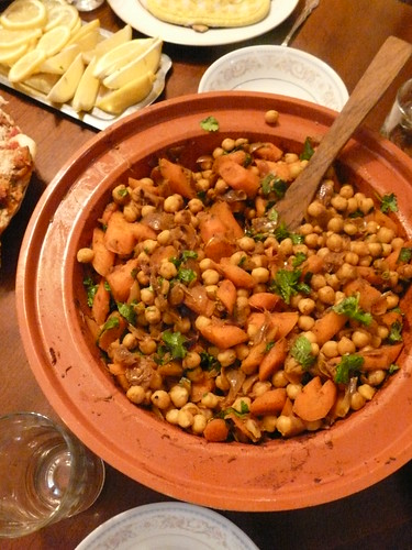 Chickpea and Carrot Tagine - Finished
