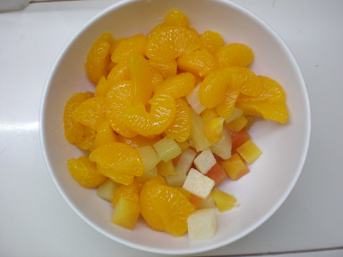 cocktail and mandarin marmalade