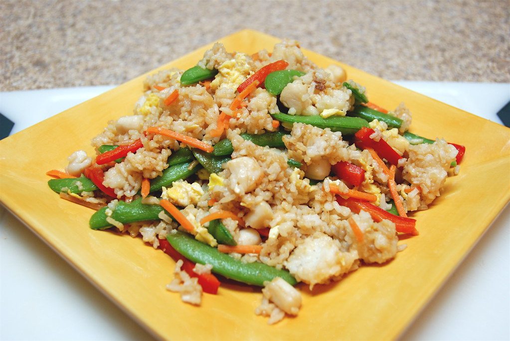 Bay Scallop Fried Rice