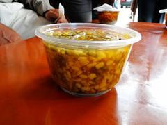福安宮外的綠豆蒜(溫)