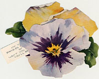 MHC Valentines Pansy Closed