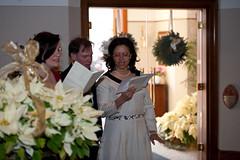 Post ceremony singing