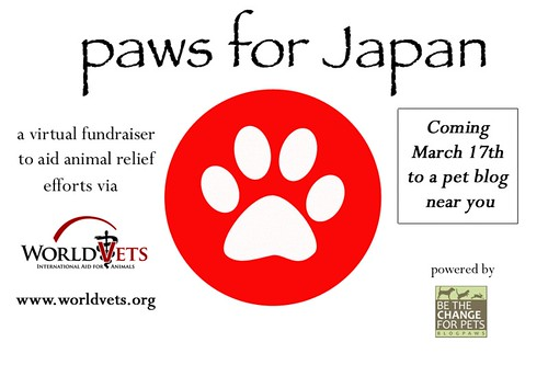 Paws For Japan WorldVets.Org Charity Donation Logo 03.17.2011