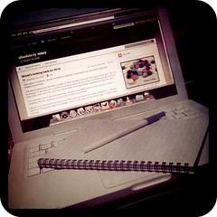 Spontaneous writing