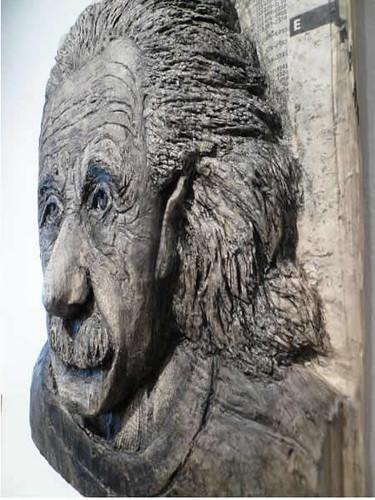 Alex Queral Book Carvings 2b Albert Einstein
