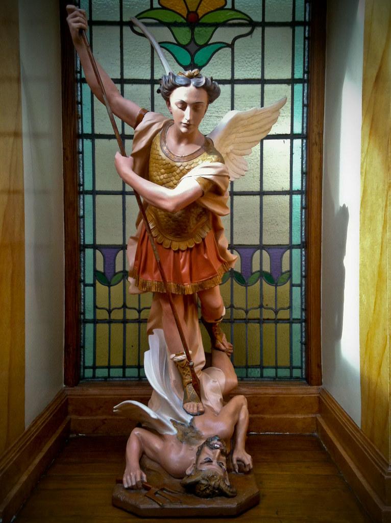 St. Michael v the devil