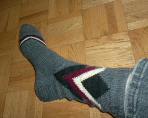 Torontonian Socks - sock 1