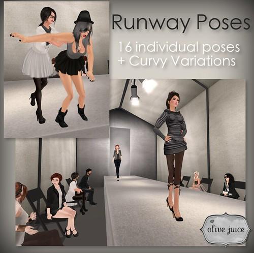 Runway Pose Pack