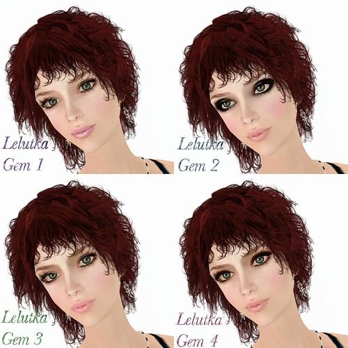 Lelutka Gem DB Makeup 1-4