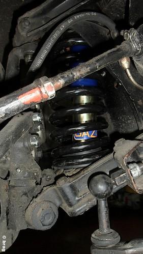 Modifica sospensione anteriore triumph TR6