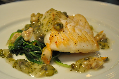 Mains - Roast Turbot