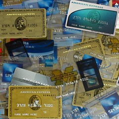 American Express Advertising Cards