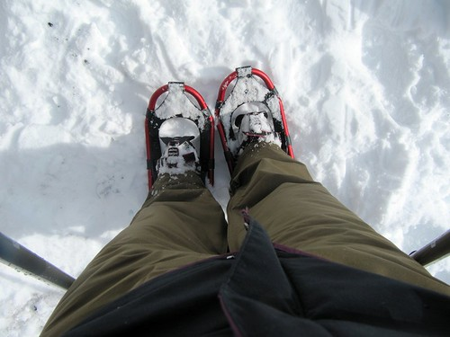 Snow shoeing 04