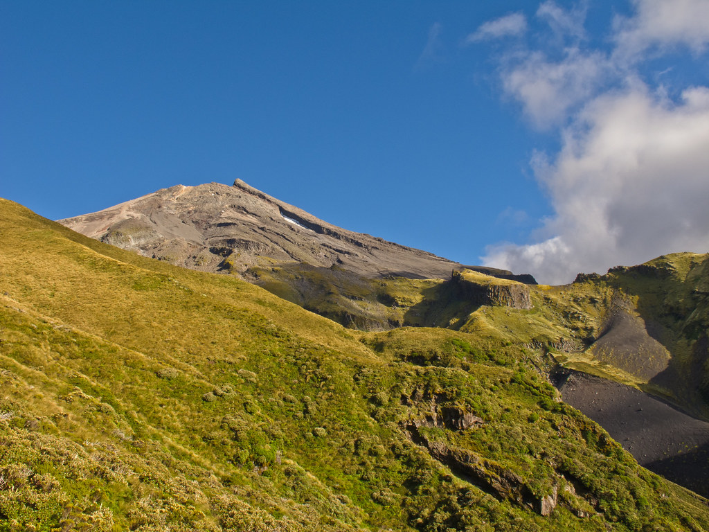 Taranaki in the morning light - III
