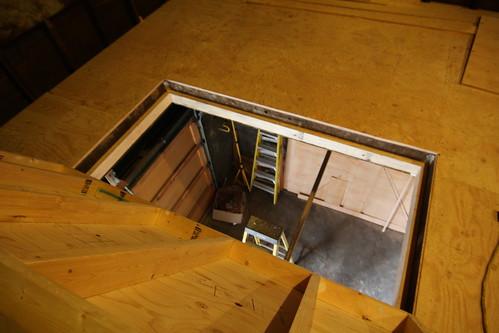 Trapdoor opened
