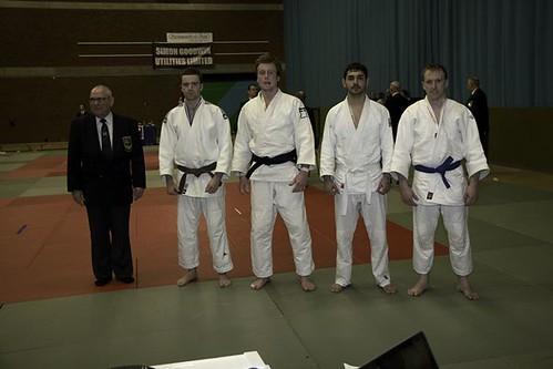 u81kg Medallists, Andrew with Bronze