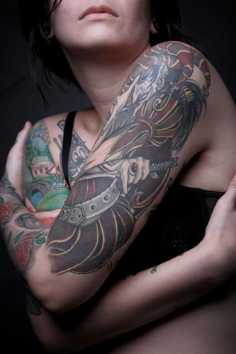 A Tatto artist (4/5)