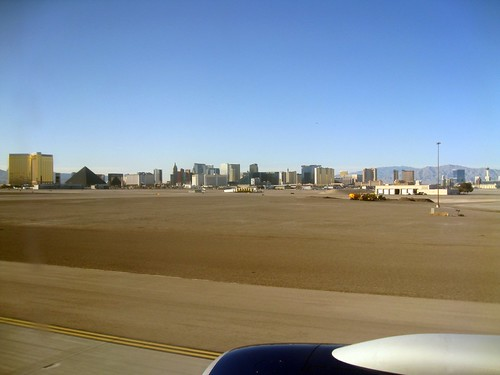 the strip from our plane