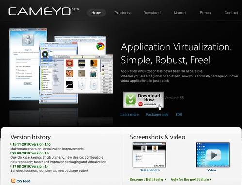[教學] Cameyo - 自製綠色可攜軟體不求人 @ Nelson 的小世界 :: 痞客邦