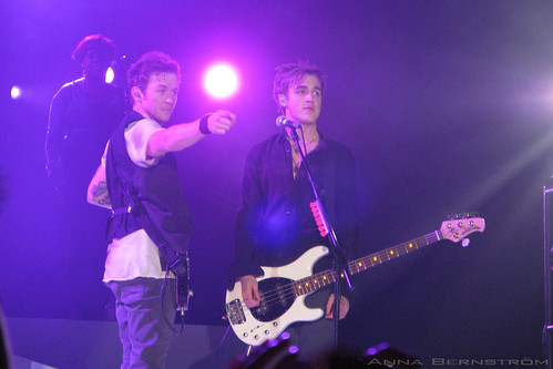 Danny Jones and Tom Fletcher of McFly, photo © Anna Bernström
