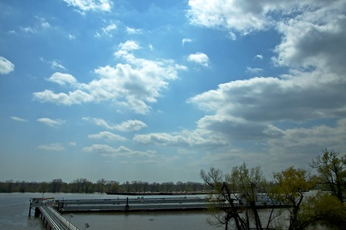 Clouds over the Mississippi