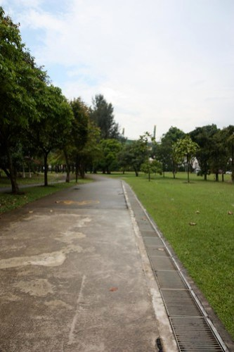 cycling to west coast park