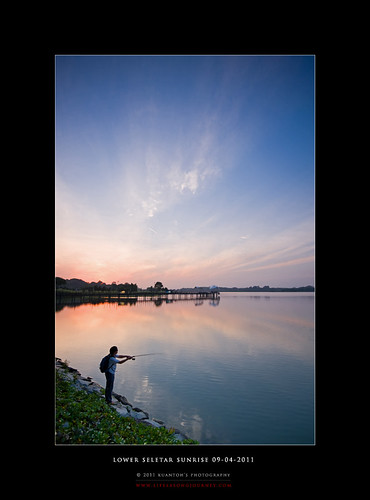 Lower Seletar Reservoir Sunrise 09-04-2011 #6