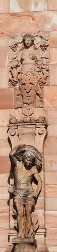 Detalj från Centralpalatset