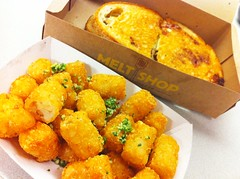 Three Cheese Melt & Tater Tots - Melt Shop