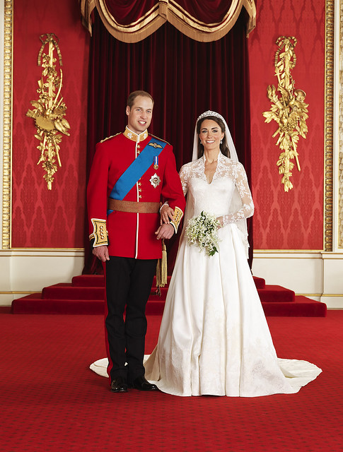 HRH Prince William and Princess Catherine Official Wedding
