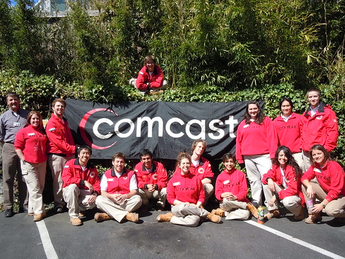 Comcast and City Year at Bailey-Boushay House