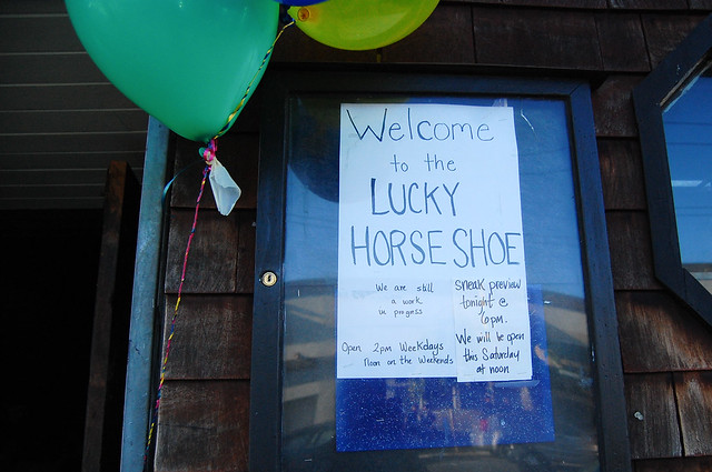 Formerly Skip's, Now Lucky Horse Shoe
