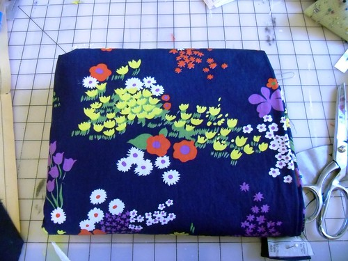 new floral fabric