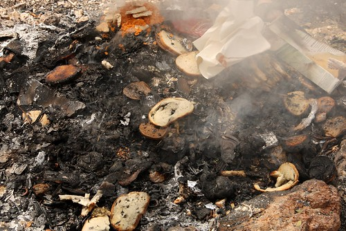 Burning Chametz (leavened foods)