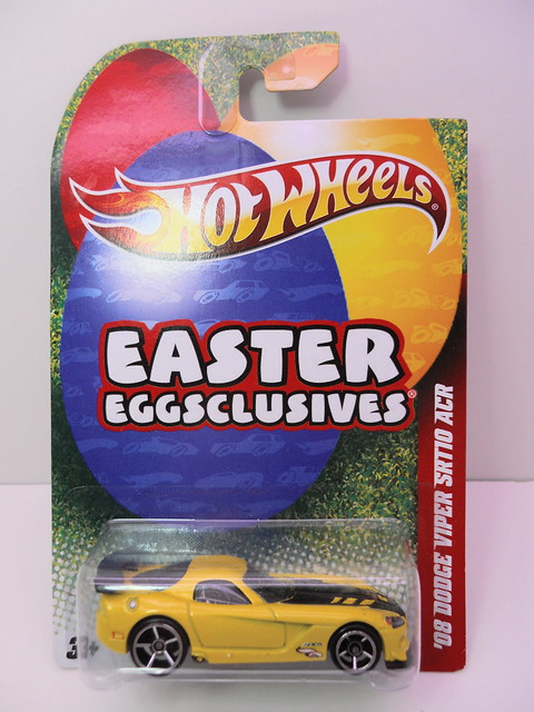 hot wheels easter eggsclusive '08 dodge viper srt10 acr (1)