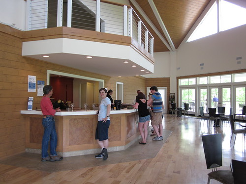 Tasting Room at Pollak Vineyards