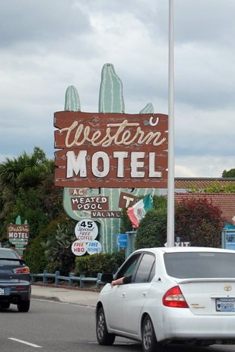 Western Hotel old sign