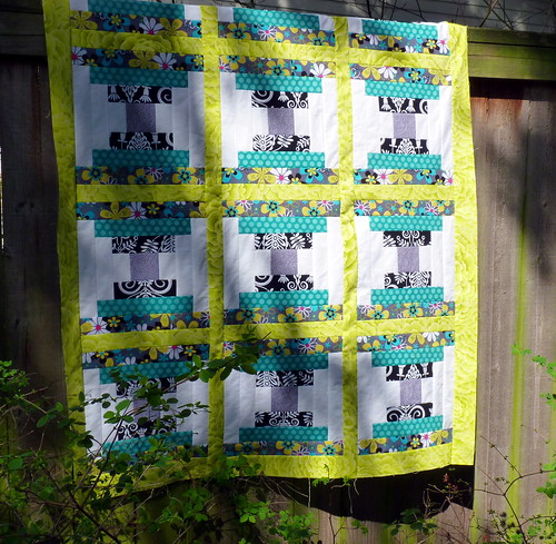 Finished quilt top!