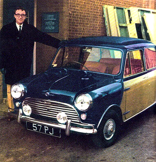 Peter Sellers & His Mini