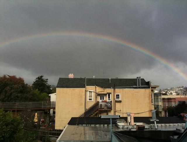 Bernalwood Rainbow!
