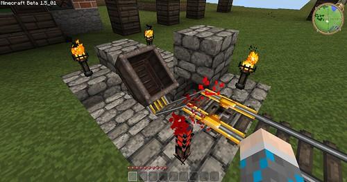 Minecraft - Minecart Station