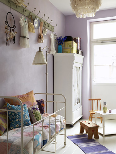 white with a bit of lilac