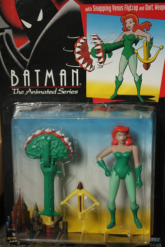 Bat-inventory- Batman the Animated Series- Poison Ivy Figure by Kenner