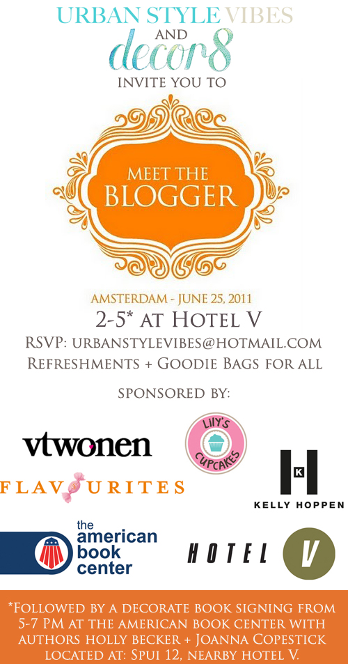 Blogger Event in Amsterdam