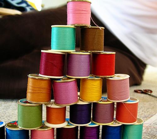 building a thread tower