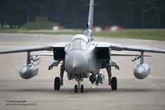 Tornado GR4 Takes Off from RAF Marham to Enfor...