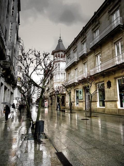 """""""Ourense rúa do Paseo"""""""